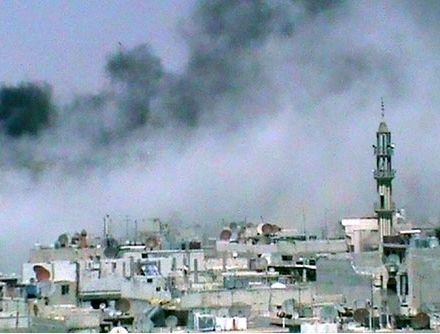 В Сирии идет гражданская война