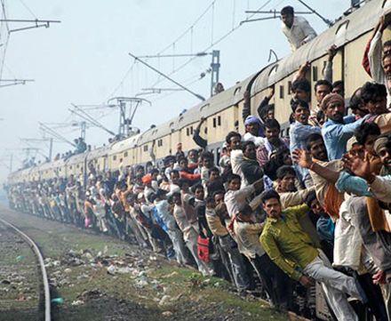 Поезд в Индии. Фото с сайта blogturista.net