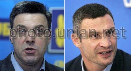 Кличко и Тягнибок не получили представительства в окружкомах