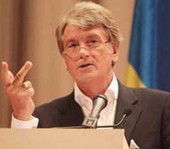 Ющенко говорит, что Украина на грани дефолта