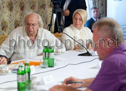 Иван Драч на встрече в Мухалатке