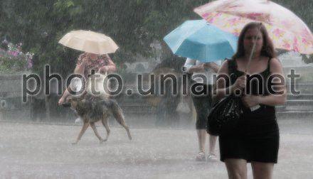 Завтра в Украине будет идти дождь