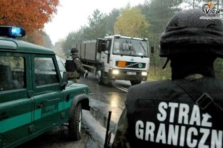 Польские и немецкие пограничники задержали семь украинцев