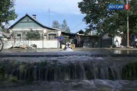 Наводнение унесло 4 жизни, фото Россия 1