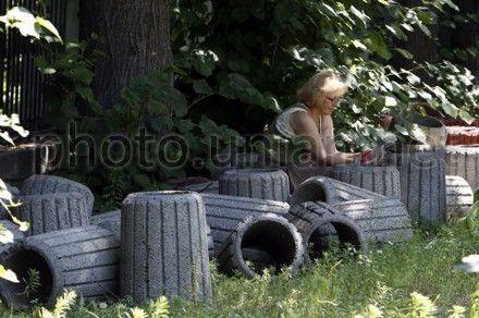 В Киев вернут бетонные урны