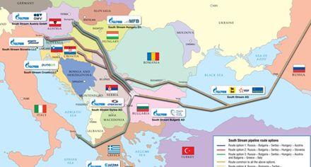 В Газпроме еще советуются, по трубам на Южный поток / Фото: ucipr.kiev.ua