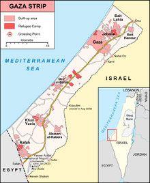 Сектор Газа обстреляли с самолетов