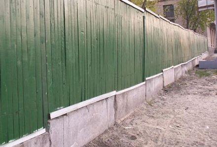 Вместо новостройки есть только забор, novostrojki.com.ua