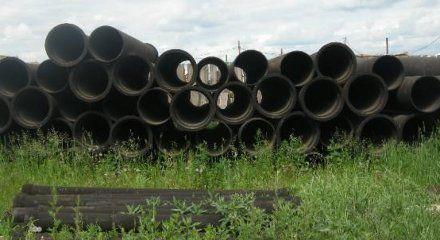 2 км чавунних труб викрали на брухт