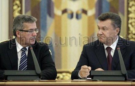Броніслав Коморовський, Віктор Янукович