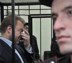 Василь Волга у залі засідань Шевченківського районного суду. Київ, 24 вересня