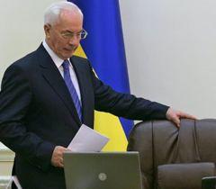 Микола Азаров на засіданні Кабінету міністрів України у Києві. 10 жовтня