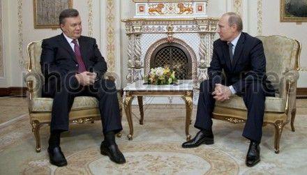 Янукович, Путин