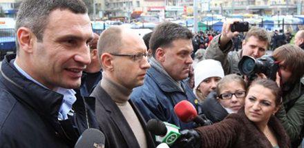 Главные оппозиционеры спешат к ЦВК
