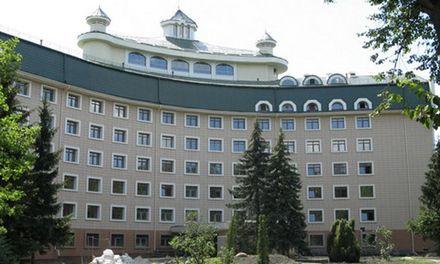 Лікарня Феофанія. Фото з сайту Відомості.UA.