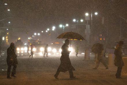 Снігопад у США. Фото ЕРА
