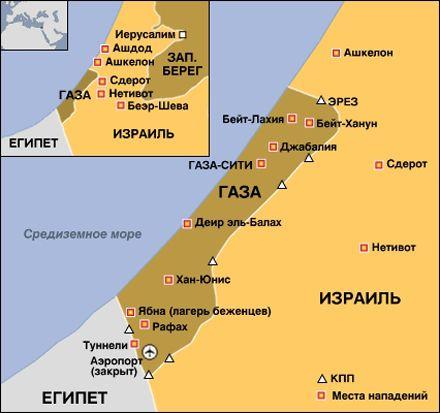 Израиль провел операцию в Секторе Газа