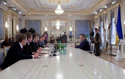 Янукович и студенческие лидеры