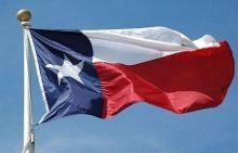 Флаг шатат Техас