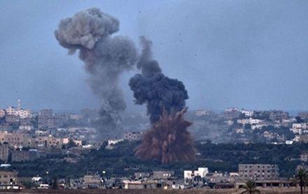 Израильские военные обменялись ударами с палестинскими боевиками. Фото http://svit24.net