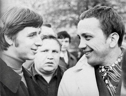 Ян Гельман и Александр Масляков, 1972 г., фото с сайта knigozavr.ru