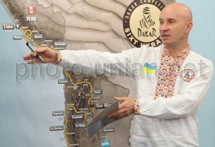Украинская команда на Дакаре-2013 установила личный рекорд
