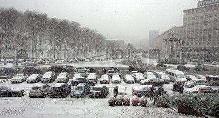 В Киеве ждут дальнейших осложнений погодных условий