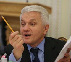 Володимир Литвин під час засідання Підготовчої депутатської групи з організації роботи ВР сьомого скликання