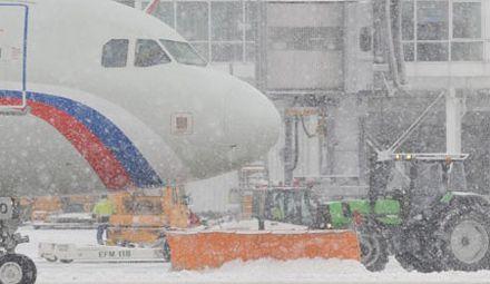 Снег. Аэропорт. Фото http://rusmunich.ru/