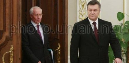 Yanukovych and Azarov have entered the VRU
