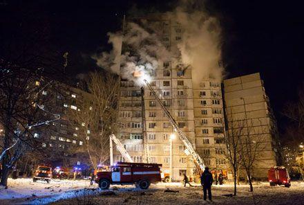 Вибух. Багатоповерхівка. Фото з Харківського форуму