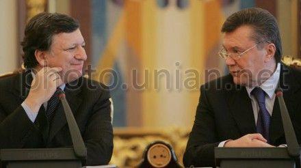 Баррозу, Янукович
