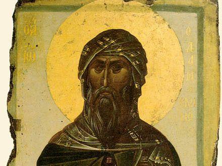 Писатель и церковный поэт преп. Иоанн Дамаскин
