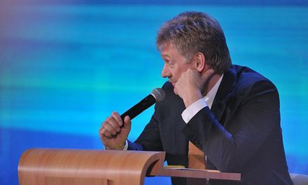 Дмитро Пєсков / Фото Прес- службы Кремля