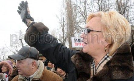Кужель передала фракции слова Тимошенко