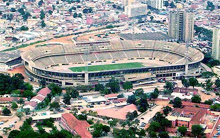 Из-за давки на стадионе Cidadela Desportiva в Луанде погибло 10 человек / Фото : telegraph.co.uk