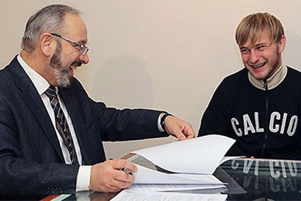 Роман Безус в Динамо / Фото пресс-службы киевского клуба