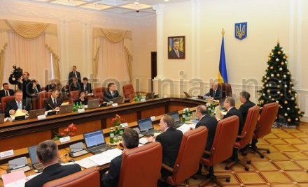 Заседание Кабинета министров Украины, 9 января 2013 г.