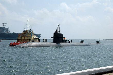 Американская подлодка столкнулась с гражданским судном / Фото : wikimedia.org