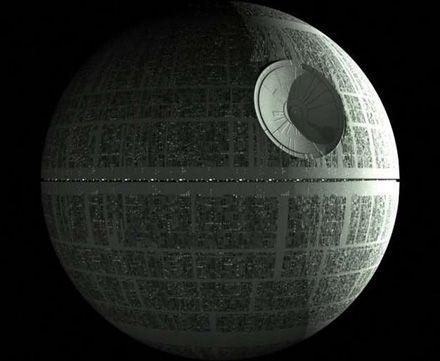 """Звезду смерти не будут строить / Кадр из фильма """"Звездные войны"""""""