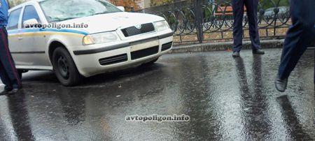 В Полтавской области милиционер стал виновником ДТП / Фото : avtopoligon.info
