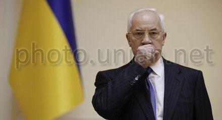 Азаров: выступления российской и украинской оппозиций - небо и земля