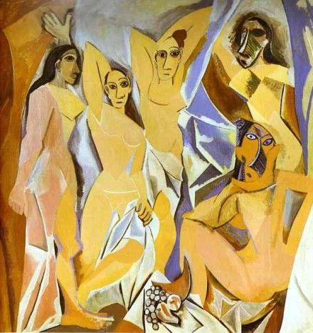 Одна из картин, возможно, имеет оригинальную подпись Пикассо / Фото: pablo-ruiz-picasso.net