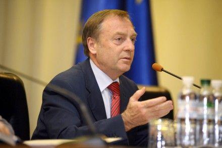 Лавринович встретился с послом Европейского Союза в Украине Яном Томбинским / Фото: ZN.UA