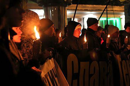 В Одессе почтили подвиг Героев Крут / svoboda.org.ua