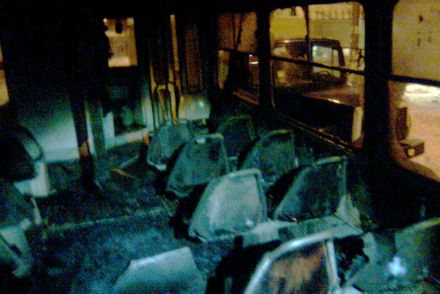Пассажиры успели выскочить / Фото: МЧС