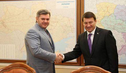Ставицкий говорил с туркменским послом о возобновлении прямых поставок / Фото Mpe.kmu.gov.ua