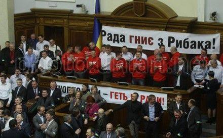 Турчинов каже, що розблокування силою нічого не дасть