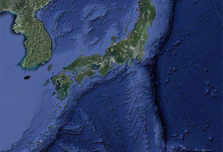 Землетрясение магнитудой 8,0 произошло в среду в Тихом океане / Фото: maps.google.com