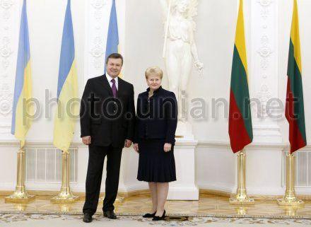Янукович и Грибаускайте встретятся в Вильнюсе